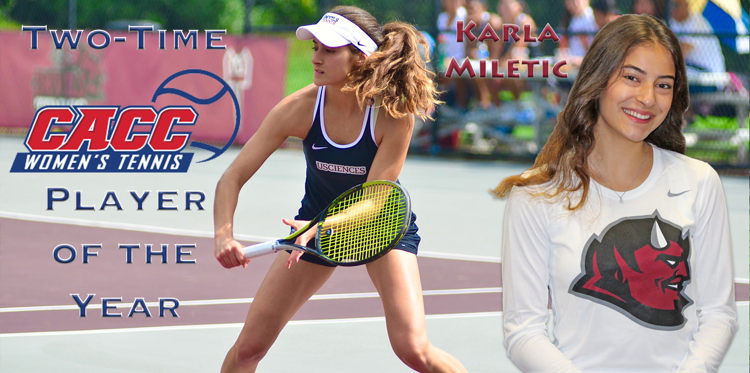 Miletic Repeats as CACC Women's Tennis Player of the Year