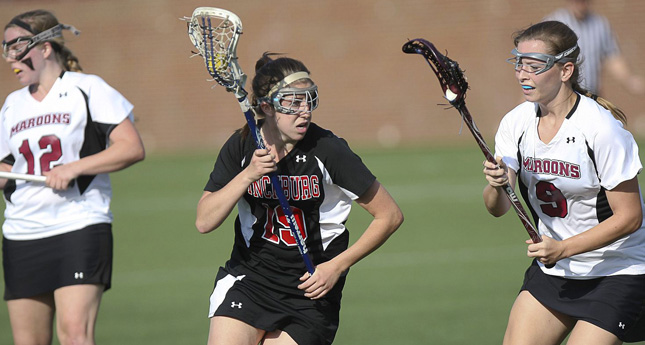 Hornets Fall to Adrian in Women's Lacrosse Action