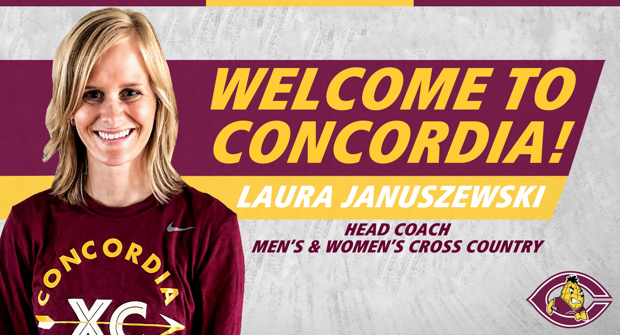 Former NDSU All-American Laura (Hermanson) Januszewski has been named the new head coach of the Cobber men's and women's cross country teams.