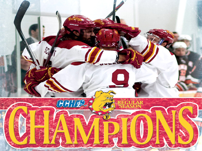 FSU Hockey Officially Claims CCHA Title !!!