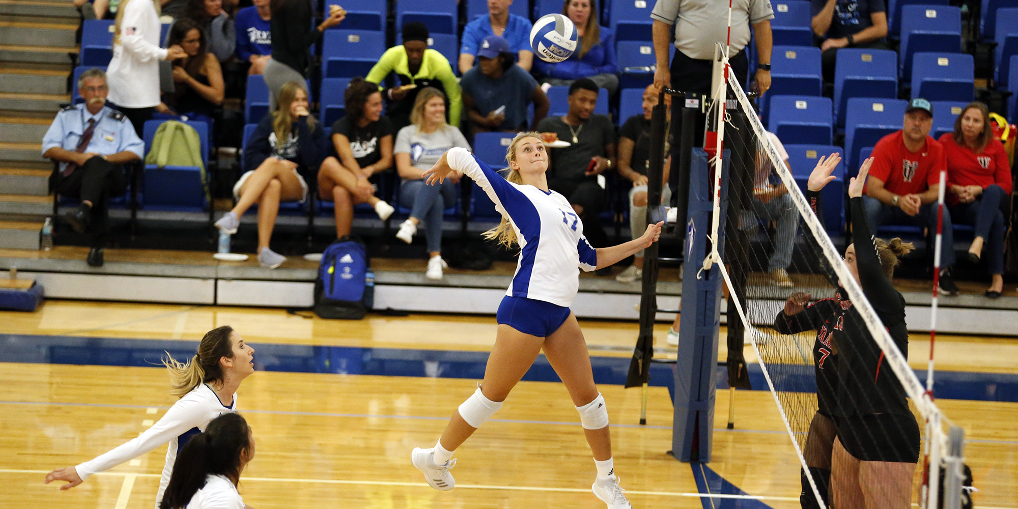 Odom's Offense Not Enough for Volleyball