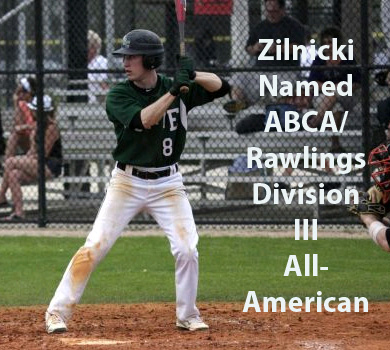 Zilnicki Named ABCA/Rawlings Third Team All-American