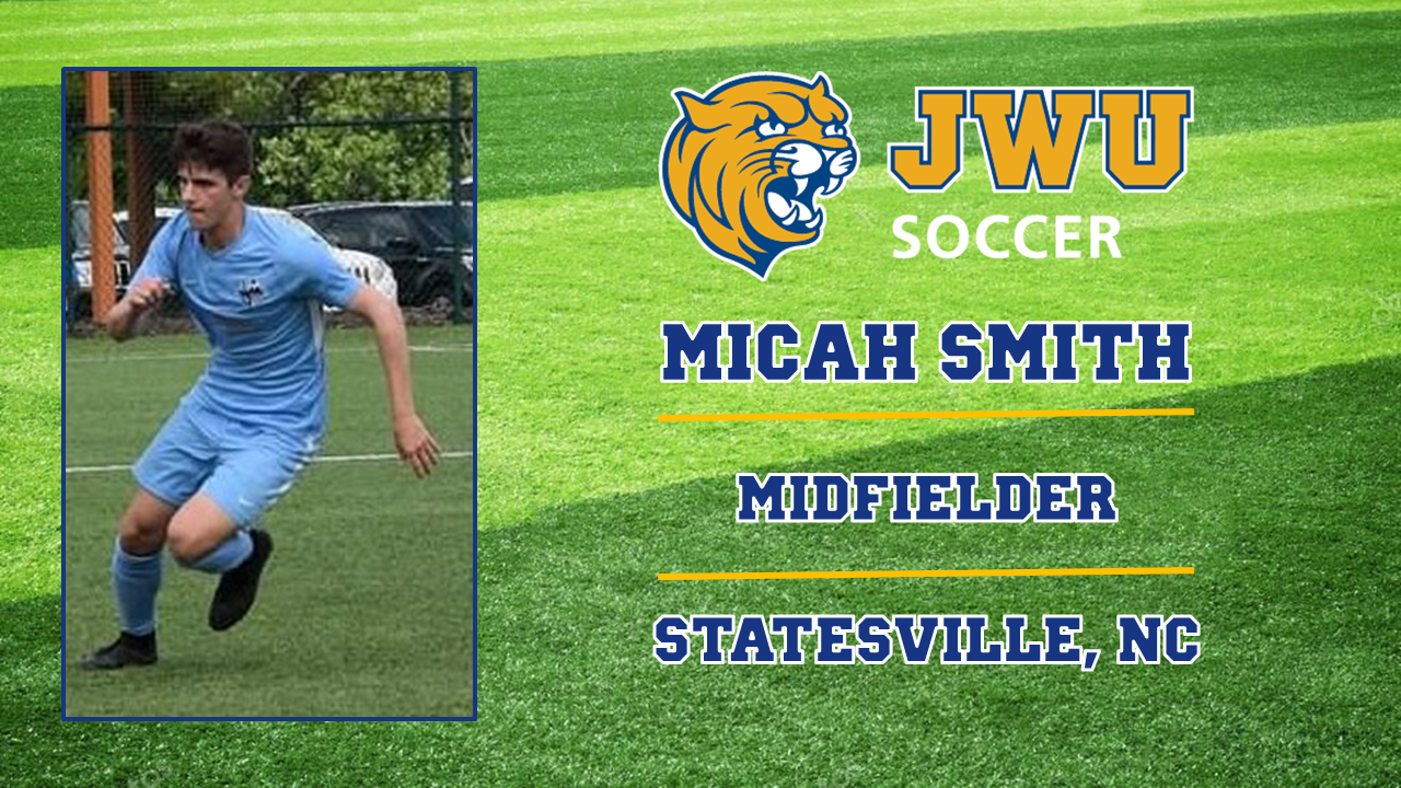 Statesville's Micah Smith Joins JWU Men's Soccer