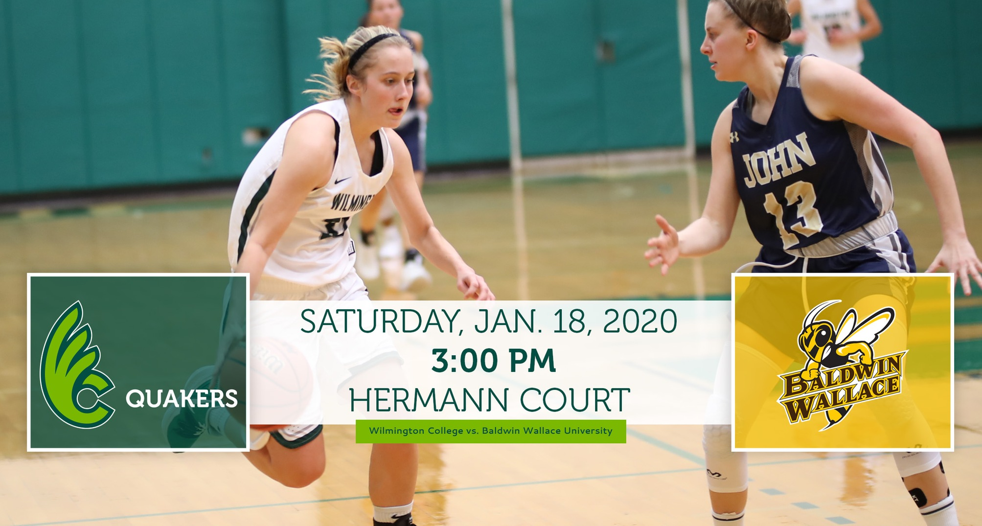 Women's Basketball Hosts No. 12 Baldwin Wallace Saturday