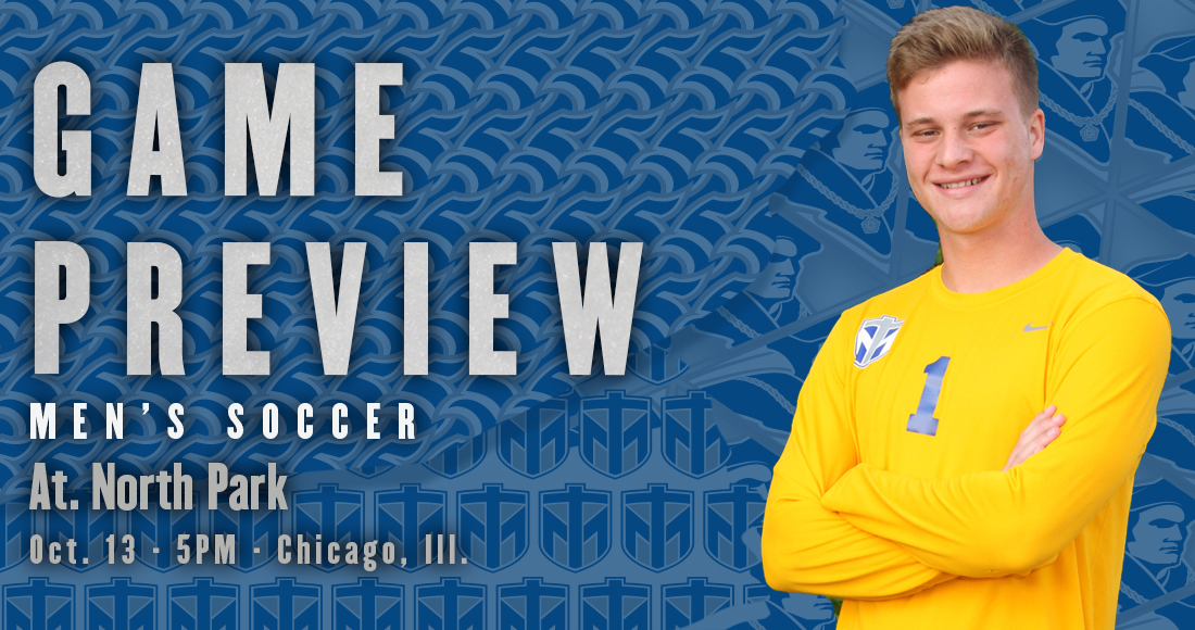Men's Soccer Takes on North Park Saturday at 5 p.m.