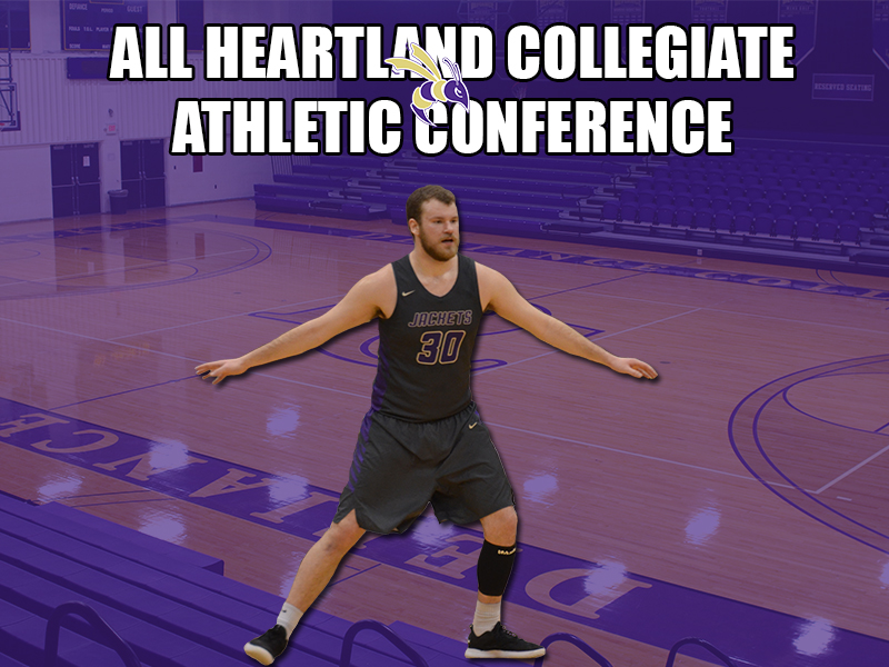 Goodrich Headlines Men's Basketball HCAC Honors
