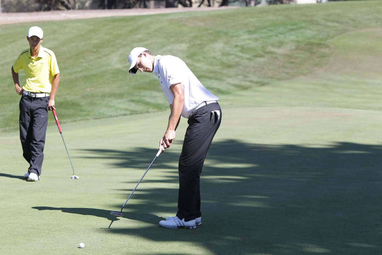 Men's Golf 8 Shots Out of Second Place After Strong Round At Cabo del Sol