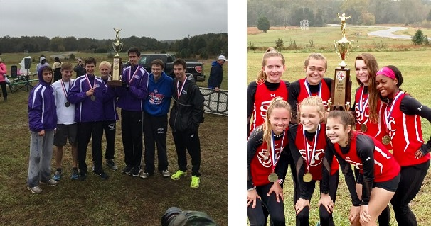 Gonzaga captures WCAC boys' cross-country title; St. John's wins girls' event