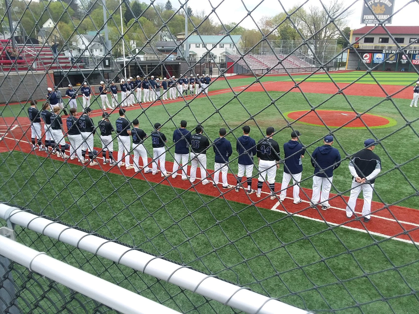 Baseball Narrowly Defeated on Opening Day