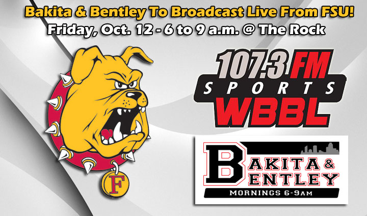 "WBBL's ""Bakita & Bentley"" To Broadcast Live From FSU This Friday Morning"