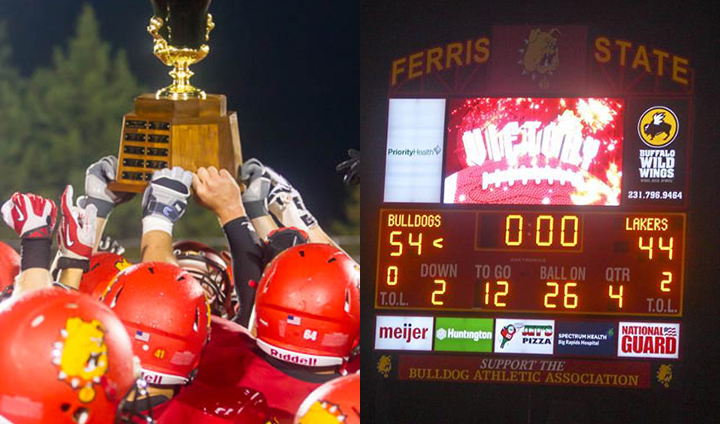 Back-To-Back Over GVSU!  The Ferris State Victory By The Numbers