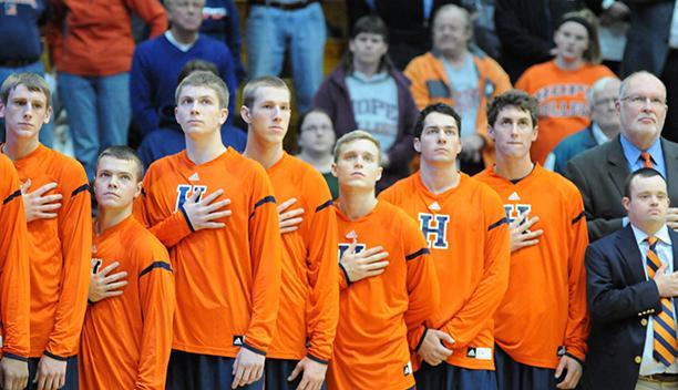 The Hope men s basketb...