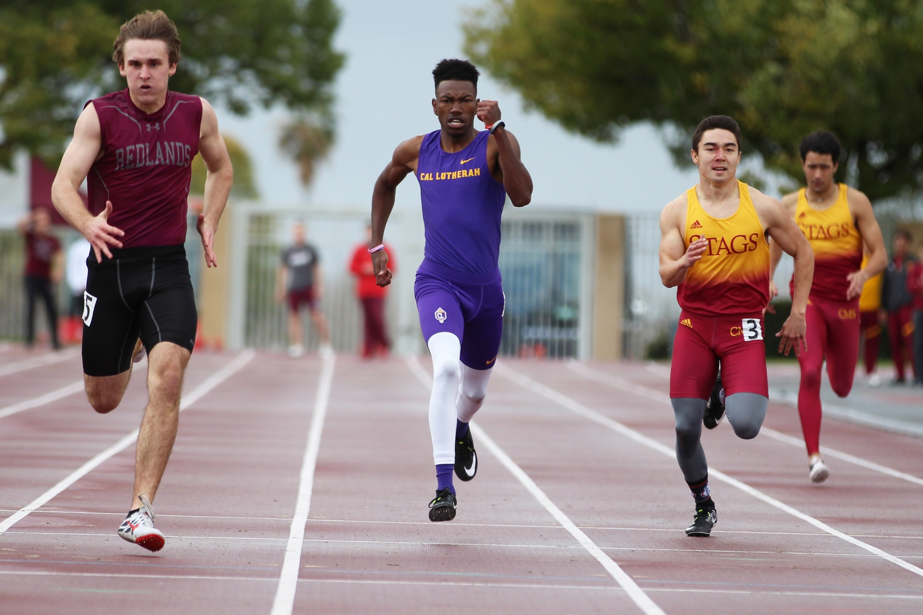 Sprinters and Throwers Highlight Day One of SCIAC Championships for Kingsmen