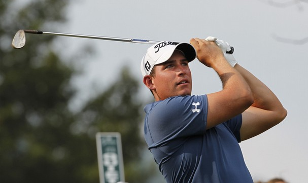 Former Golden Eagle Scott Stallings shoots 2-under to open Masters