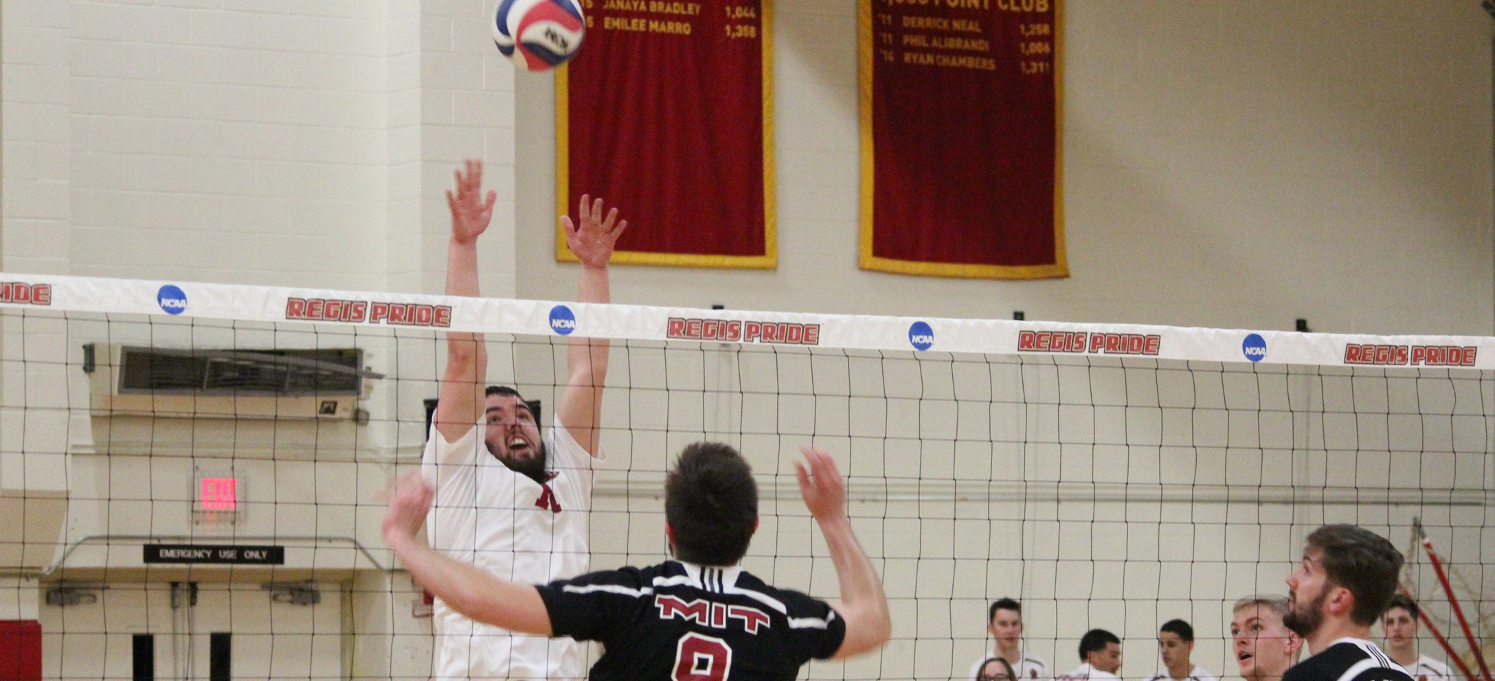 Men's Volleyball Earns Four-Set Win At Emerson