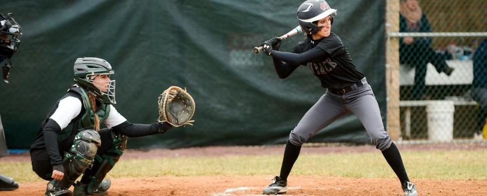 Softball Topped by Visiting NYIT 2-1, 8-0