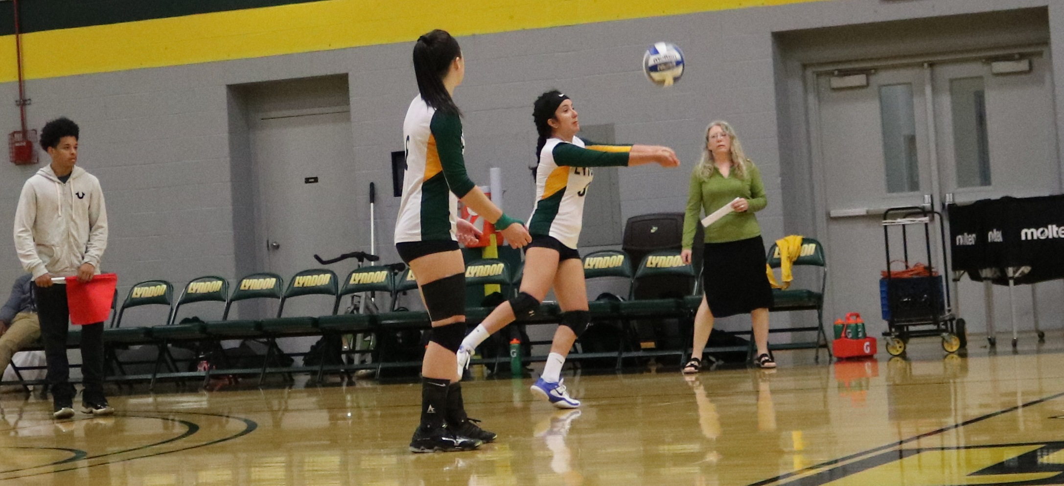 Hornet volleyball falls twice at UMaine-Presque Isle quad match