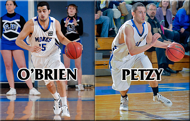 O'Brien and Petzy Claim All-State Recognition