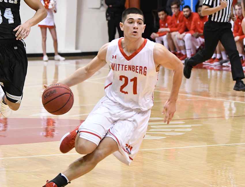 No.11 Men's Hoops Takes Down Wilmington In Kiwanis Classic