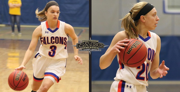 Barker, Chambers named Women's Basketball All-NACC