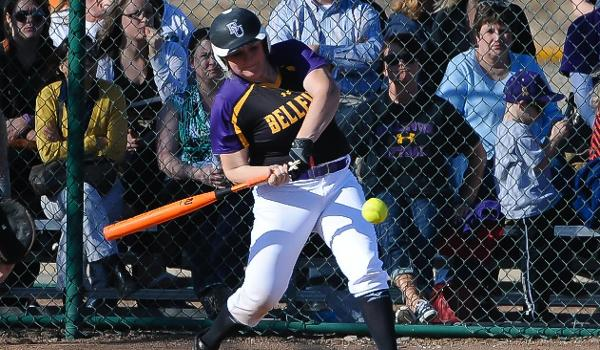 Kristine Kimberley drove in the game-winning run for BU with a walk-off hit by pitch