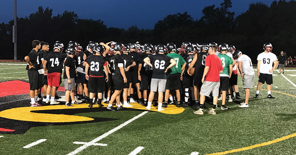 Football Officially Begins 2018 Season With First Practice