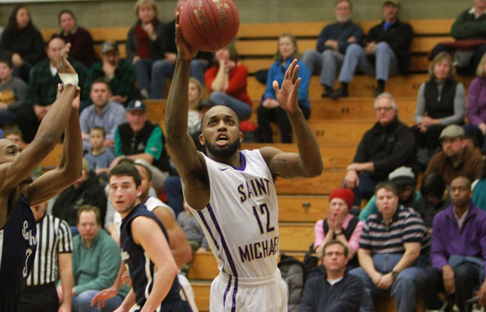 Men's basketball drops affair between regionally-ranked counterparts to Saint Anselm