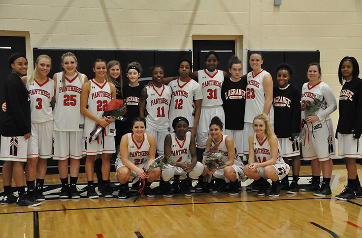 Women's Basketball: Nationally-ranked Maryville spoils Senior Day for Panthers