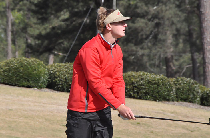Golf: Panthers tied for fifth after first round of USA South Championship