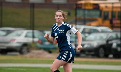 Women's Soccer Play to Third Staight Tie