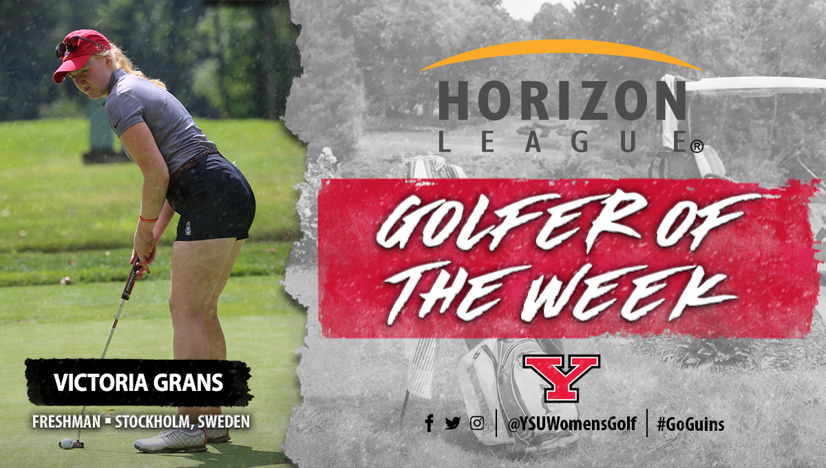Victoria Grans was named Nike Horizon League Women's Golfer of the Week for the period of March 13-19.