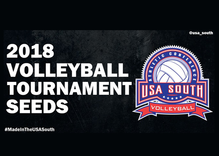 USA South releases seeding for conference volleyball tournament