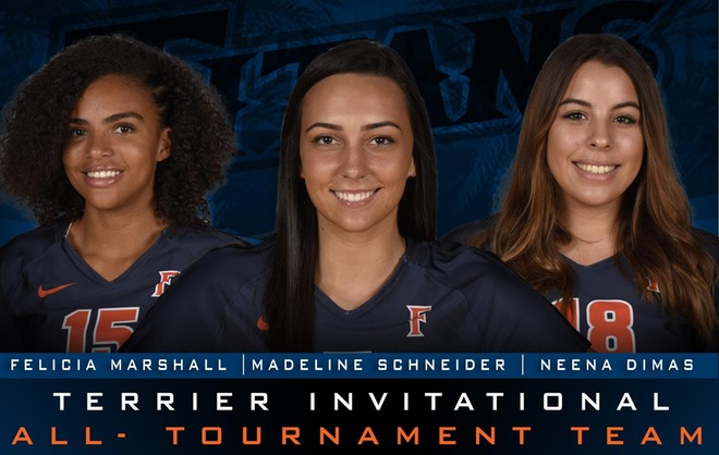 Three Titans Selected to Terrier Invitational All-Tournament Team