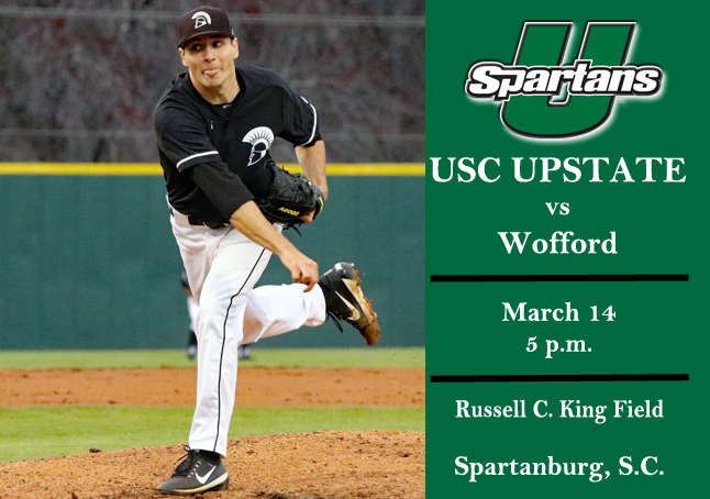 Spartans Travel to Wofford on Wednesday