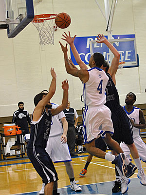 Men's Basketball: PSU Wilkes Barre Edges out Penn College 69-65