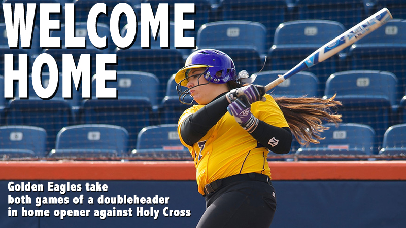 Tech plates a combined 16 runs on 21 hits to sweep Holy Cross in home opener