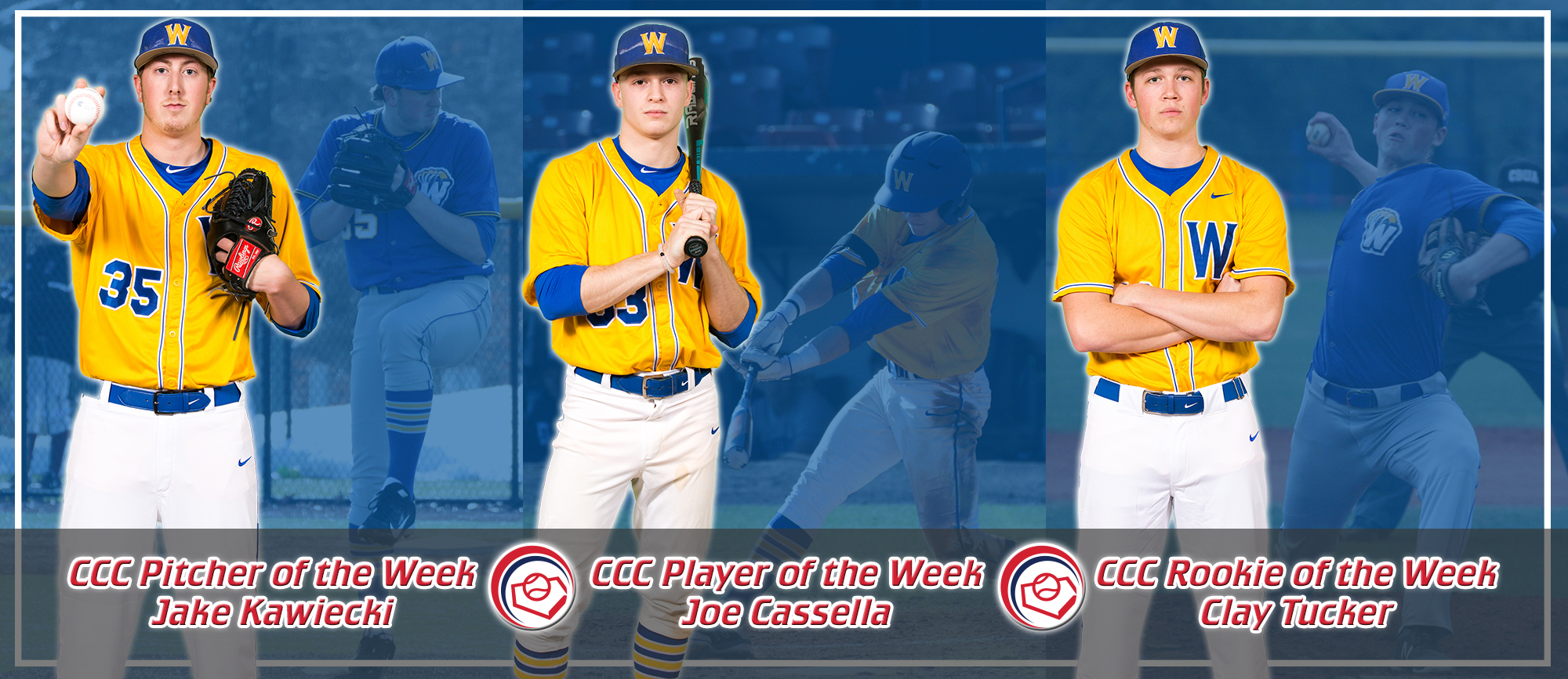 Golden Bears Sweep CCC Awards Following 6-0 Week in Florida