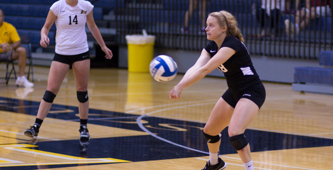 Lentz garners AVCA Honorable Mention All-American honors