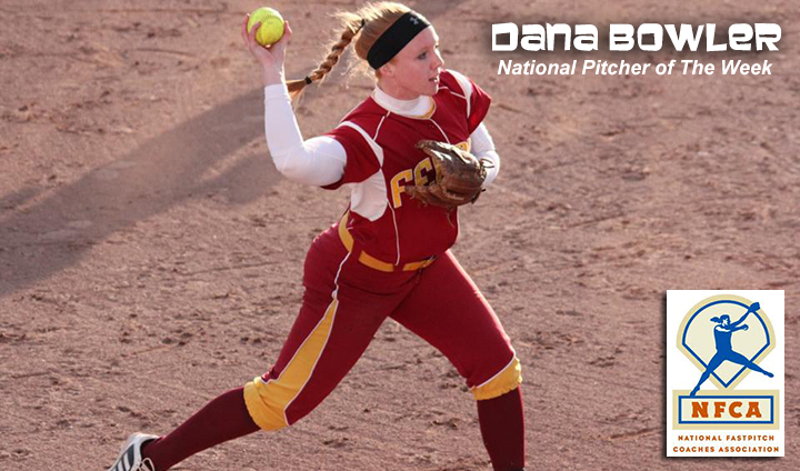 Ferris State's Dana Bowler tabbed As D2 National Pitcher Of The Week