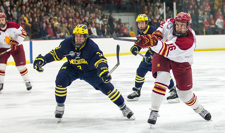 Regular-Season Matchups With Michigan & Michigan State Highlight Ferris State Hockey's Non-League Slate In 2013-14
