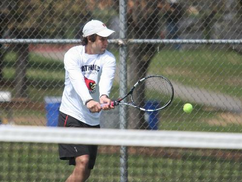 Men's Tennis Opens Year with 6-3 Victory Over St. Mary's