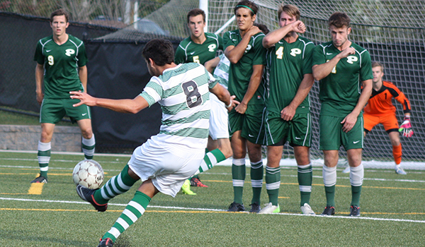 Wilmington Drops Hard Fought Men's Soccer Match, 1-0, to LIU Post