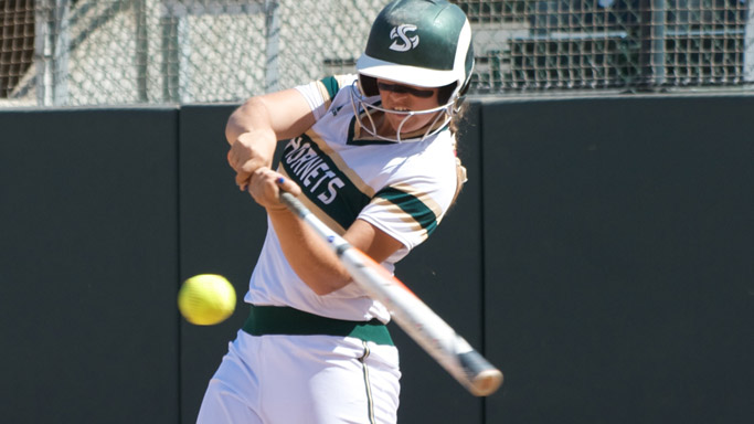 MARGULIES' BIG DAY LEADS SOFTBALL TO DOUBLEHEADER SWEEP OF MONTANA