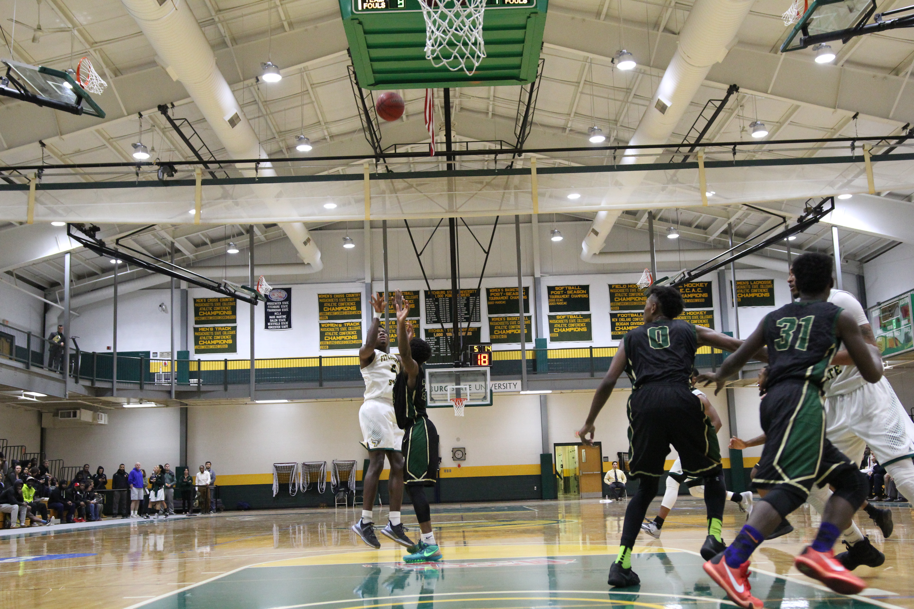 Fitchburg State Edged By Clark, 87-85