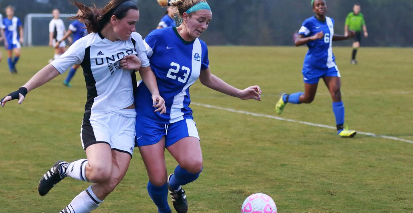 Bobcat Soccer Takes PBC Quarterfinal Thriller from UNCP, Tidwell Goal Wins Match with 7.2 Left