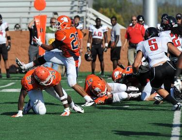 No. 18 Carson-Newman clashes with Crusaders Saturday