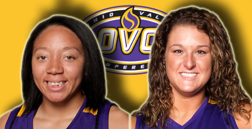 Hayes, Darling garner OVC weekly honors