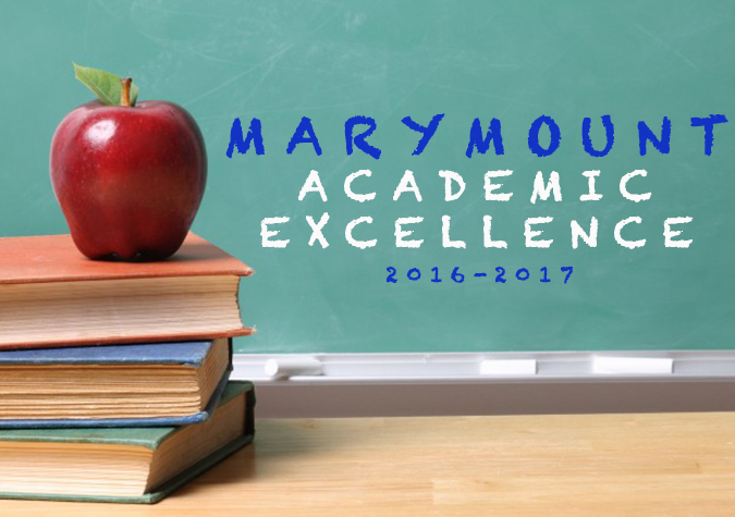 Continued Academic Excellence by Marymount student athletes