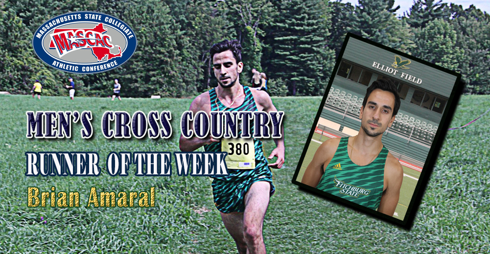 Amaral Tabbed MASCAC Men's Cross Country Runner Of The Week