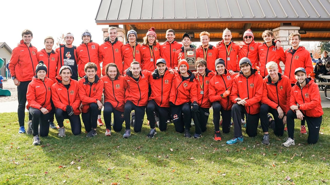 Otterbein Men's Cross Country Wins Second-Straight OAC Title